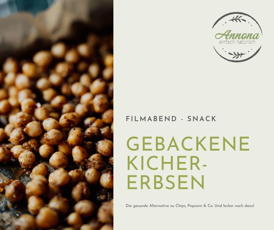 You are currently viewing Gebackene Kichererbsen