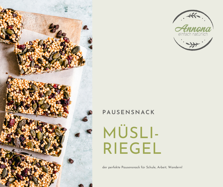 Read more about the article Müsli – Riegel